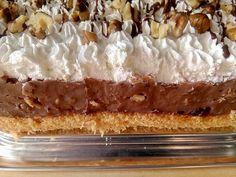 Somlói torta, mazsolával és finom diódarabokkal, bámulatos lett! - Egyszerű Gyors Receptek Cakes And More, Vanilla Cake, Ham, Cheesecake, Minden, Food, Cheesecake Cake, Hams, Cheesecakes