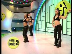 Video guide to basic zumba steps.
