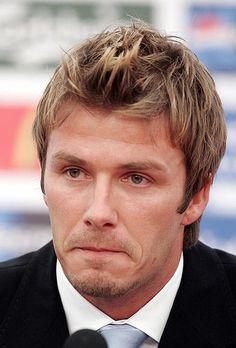 sport: Soccer - David Beckham file