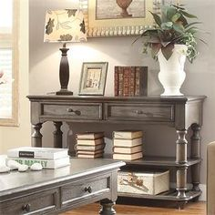 Belmeade Console Table I Riverside Furniture