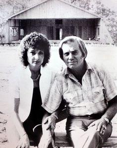 George Jones And His Wife  Nancy at Jones Country Park in 1983 ...