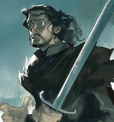 "gameofthrones-fanart: ""Game of Thrones Season 7 Characters Digital Paintings by Ramón Nuñez "" Imagenes de humor"