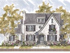 small french country house plans | here to mirror reverse plan