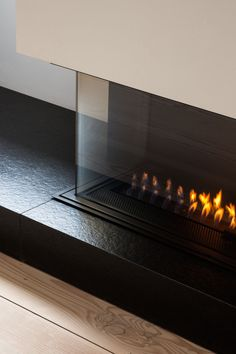 Interior Design — Minimal Fireplace