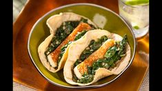 Vegetarian or not these tacos will amaze you! Taste for yourself!  http://www.vvsupremo.com/recipe/asadero-spinach-tacos/ #LoveMyQueso