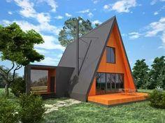 треугольный дом для турбазы дачный домик: 25 тыс изображений найдено в Яндекс.Картинках