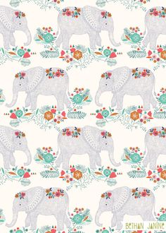 Elephants by Bethan Janine More