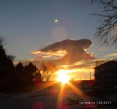 Angel In The Clouds..........beautiful. Nite, Aaron. 8.9.2015