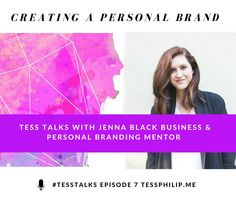 Creating A Personal Brand With Jenna Black