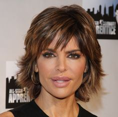 The short shag haircut is one of the best hairstyles for older women.