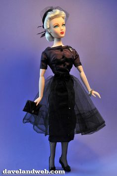 Gene - Timothy Alberts is the designer of this circa 1955 outfit, released in 1996. Not sure what took me so long to photograph it, as again, it ...
