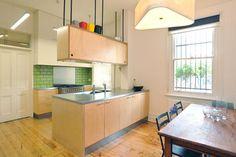 http://www.houzz.com/photos/kitchen/size--medium/cabinet-style--flat-panel/backsplash-color--green