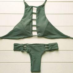 Pre Order Solid Hawaii Bikini – Tiffany's Boutique