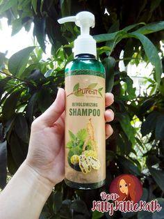 Product Review: Purest by Natura Organics ReVOLUMIZING Shampoo | Dear Kitty Kittie Kath- Beauty, Fashion, Lifestyle, and Mommy Blog