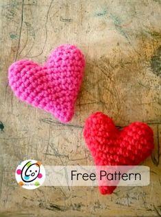 crochet hearts pattern