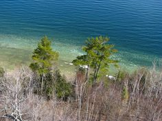 View from atop Eagle Tower in Peninsula State Park - Spring Door County Wisconsin, Best Vacations, Lodges, State Parks, Cool Pictures, Eagle, Tower, Waves, Spring