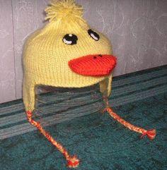 Duck Hat Pattern