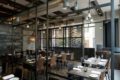 Dabbous restaurant by Brinkworth, London bar and restaurant