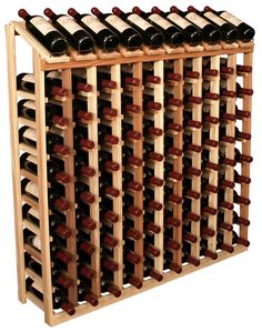 100 bottle wine rack
