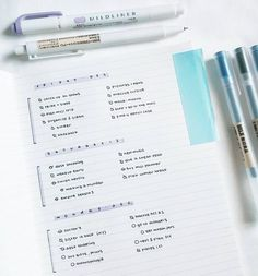 *sighs happily for days* | 24 Minimalist Bullet Journal Layouts To Soothe Your Weary Soul