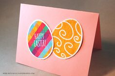Happy easter gift certificate template diy gift certificate tape these easter egg printables on a pastel page of card stock for a yadclub Choice Image