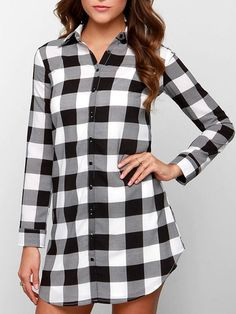 Love this dress! Old Navy Plaid Pullover Shirt Dress for Women ...