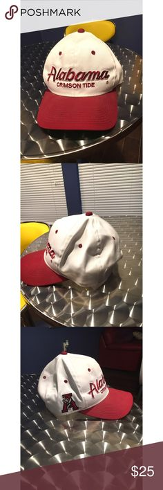 Alabama Crimson Tide SnapBack (dad hat) Vintage Alabama Crimson Tide  Snapback or dad had 76e826fc718b