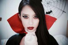 maquillage vampire fille et femme sexy - tutoriel vidéo