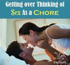 Sex is a chore