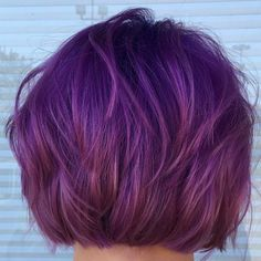 Image result for short hair purple highlights hair pinterest haircolor how to perfect purple by dustin stone pmusecretfo Choice Image