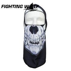 Men Halloween Skull Mask Cat Animal Face Mask Balaclava Bicycle Sport Bike Cycling Caps Ski Hat 3D Military Tactical Mask Women
