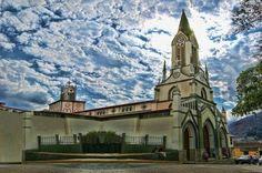 Iglesia de San Alejo.Catedral de Bocono.Edo Trujillo.Venezuela