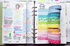 Tchibo scrap time washi tape set