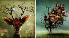 Magical Illustrations By Alexander Jansson