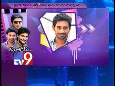 Actors Nikhil, Varun Sandesh and Aadi in Tv9 Studio - Part 1