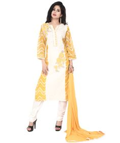7e3bfe959469a6 Party Wear Yellow Cotton Readymade Salwar Suit - 71313 Pakistani Salwar  Kameez