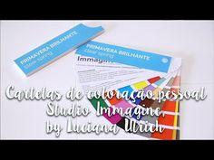Cartelas de coloração pessoal Studio Immagine by Luciana Ulrich - YouTube