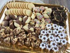 Biscotti di pasta frolla assortiti Italian Cookies, Wine Recipes, Italian Recipes, Cookie Recipes, Food To Make, Food And Drink, Sweets, Cooking, Breakfast
