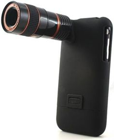 Long lens for iPhone camera