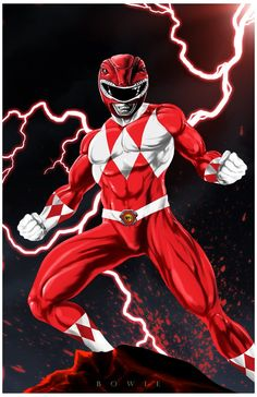 Red Ranger by Damon Bowie