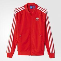 adidas Supergirl Track Jacket - Lush Red S16-St  b597bcc66ab