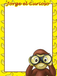 Curious George Coloring Pages, Curious George Party, Ideas Para Fiestas, Writing Paper, 2nd Birthday, Little Boys, Pokemon, Stationery, Lily