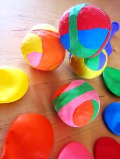 diy-balles-jonglage-Creamalice Boule Anti Stress, Wedding Games, Easter Eggs, Workshop, Activities, Jouer, Party, Home Made Games, Easy Diy