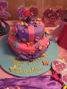Brooklyns Abby Caddaby Cake