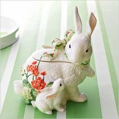 The Adorned Cookie: Bunny Cookie Jar