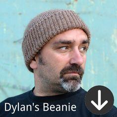 free Dylan's Beanie knitting pattern