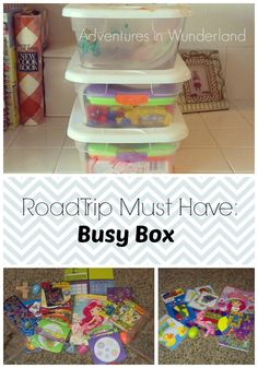 Road Trip Must Have: Busy Box