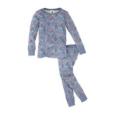 In vibrant shades of pink & purple, the Winterwald Pajamas for little girls have long sleeves & cozy bottoms. Find more little girl clothes at Tea Collection.
