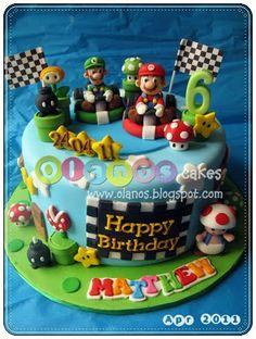 Mario bros by olanos cakes