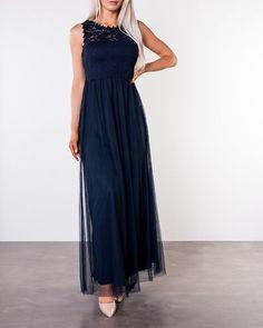 Lynnea Maxi Dress Total Eclipse